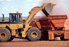 Minería aurífera Imagen de archivo libre de regalías
