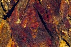 Mineraal gekleurde rotsen Royalty-vrije Stock Afbeelding