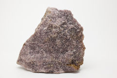 Mineraal: Lepidolite Stock Afbeelding