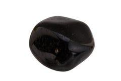Mineraal zwart onyx Royalty-vrije Stock Foto's