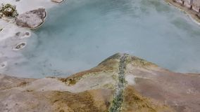 Mineraalwaterkreek stock footage