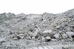 Minerai contenant l'amiante de chrysotile photo libre de droits