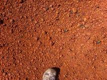 Minerai d'aluminium de bauxite Image stock
