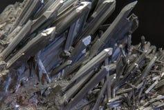 Minerai d'antimoine de Roumanie Photos stock