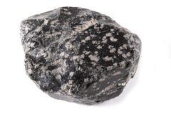 Minerai d'obsidien photographie stock