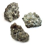 Minerai d'uranium Photos libres de droits