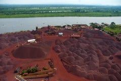 Minerai de fer images stock