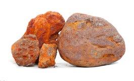 Minerai de fer Images libres de droits