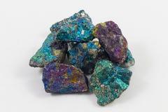 Minerai de paon image libre de droits