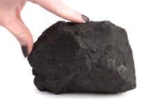Minerai de Schungite Photos libres de droits