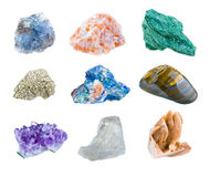 Minerais Image libre de droits