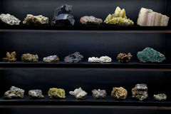 Minerais Photographie stock libre de droits