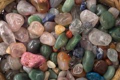 Minerais e close up dos cristais Fotografia de Stock