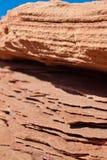 Minerais nas rochas Imagem de Stock