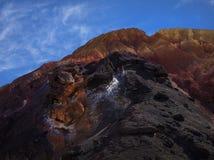 Minerais nas rochas Fotos de Stock Royalty Free