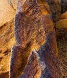 Mineral är limonite royaltyfri fotografi