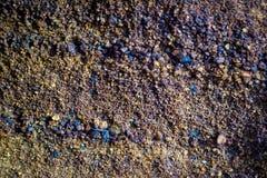 Mineral är limonite fotografering för bildbyråer