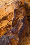 Mineral är limonite arkivbilder