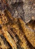 Mineral är limonite arkivfoto