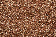 Mineral background. The gold  pebbles , natural minerals, of grain of gold Stock Images