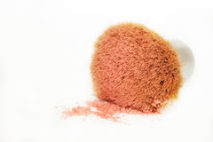 Mineral Blush Brush Royalty Free Stock Photos