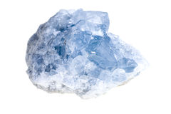 Mineral celestite Stock Photos
