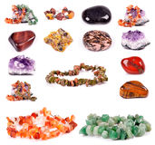 Mineral collection Royalty Free Stock Photography