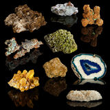 Mineral Collection Stock Photos