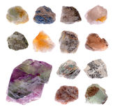 Mineral collection Stock Image
