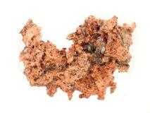 Mineral de cobre Foto de archivo libre de regalías