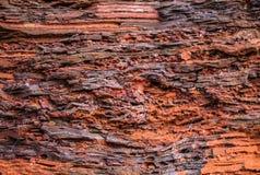 Mineral de hierro del detalle Imagen de archivo
