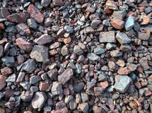 Mineral de hierro de Ucrania Foto de archivo libre de regalías