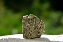Mineral de Pyrit Imagen de archivo