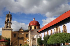 Mineral del chico II. Magical town of Mineral del Chico, mexican state of mexico stock images