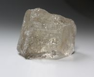Mineral del cuarzo ahumado (Rauchtopaz) Imagenes de archivo