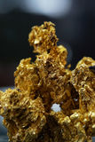 Mineral del oro imagen de archivo libre de regalías