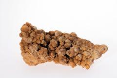mineral do aragonit da flor do ferro Fotos de Stock