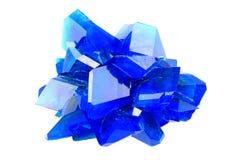 Mineral do vitríolo azul fotografia de stock royalty free