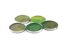 Mineral eyeshadow Royalty Free Stock Images