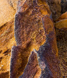 Mineral is limonite. Ore to produce iron and paint Royalty Free Stock Photography