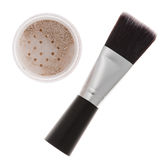 Mineral make-up isolated Stock Photography