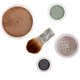 Mineral make-up isolated Royalty Free Stock Photos