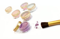 Mineral makeup Stock Photography