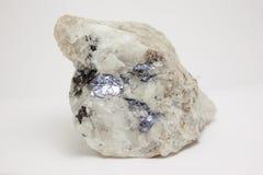Mineral: Molibdenita Imagen de archivo