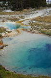 Mineral Pools at Yellowstone Stock Image
