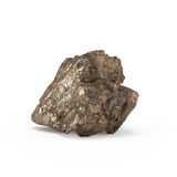 The mineral raw materials 3d rendering Royalty Free Stock Photo