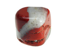 Mineral red jasper Stock Photo
