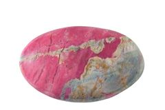 Mineral rhodonite Royalty Free Stock Photos