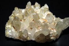 Mineral rock Stock Photography