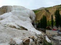 Mineral spring Gary-Chashma. Mineral spring Gary Chashma Gorno-Badakhshan Tajikistan Royalty Free Stock Photo